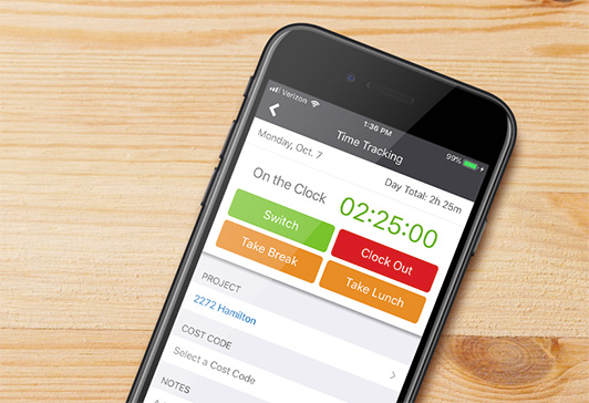 COL Time Tracking Mobile
