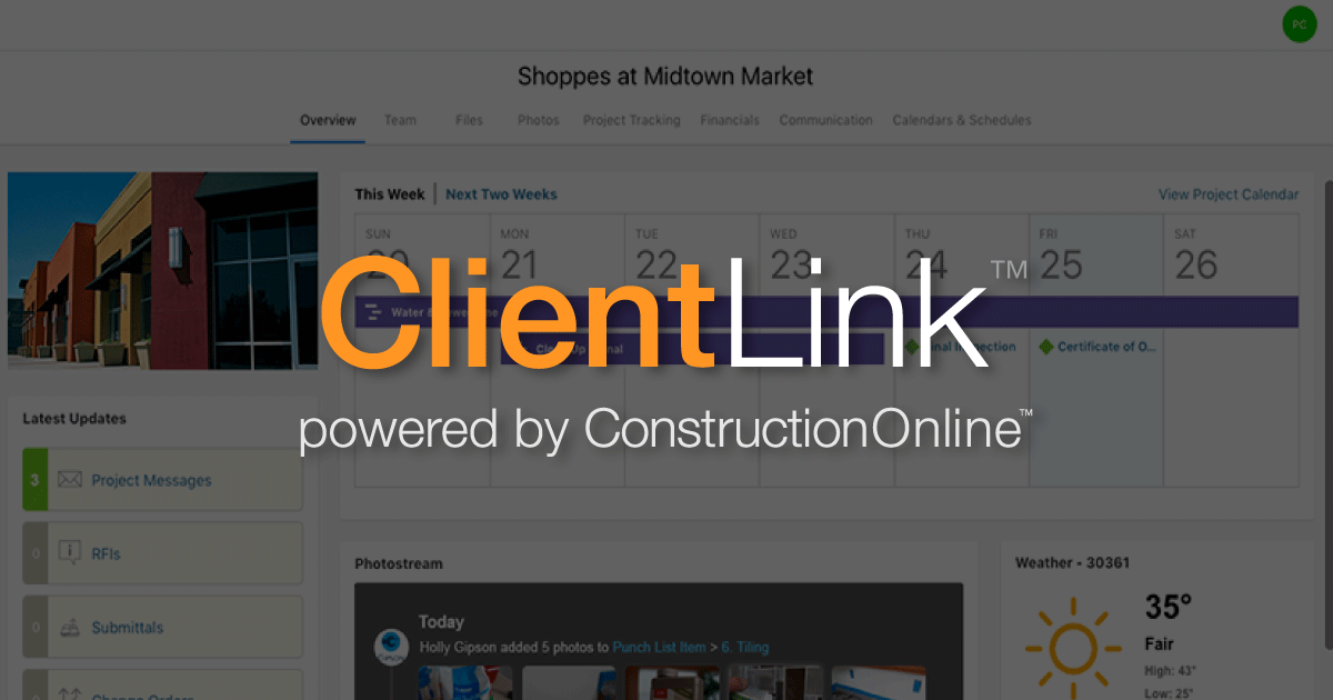 constructiononline press